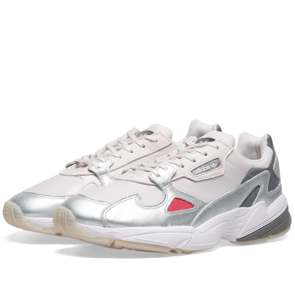 factory price 6b585 cfdb5 Adidas Falcon W Orchid Tint  Metallic Silver  END.