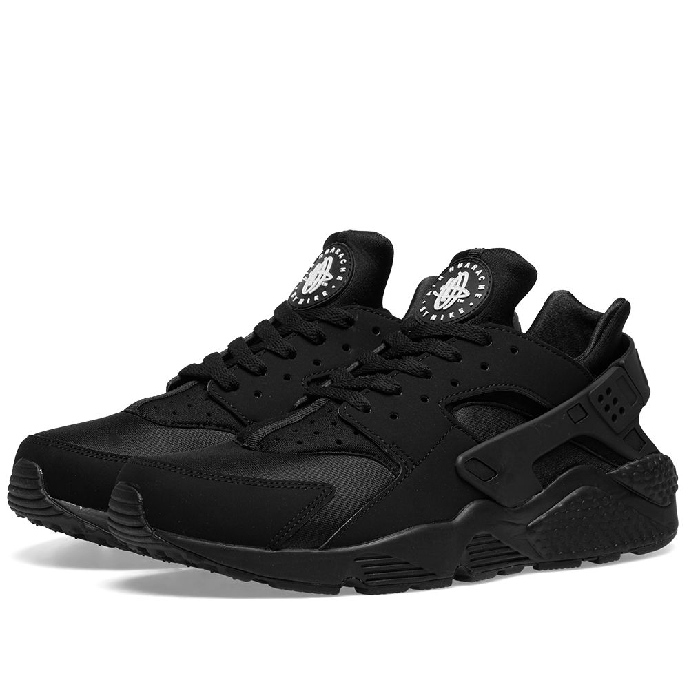 sports shoes 24a4d 4b75a Nike Air Huarache Triple Black Black  END.