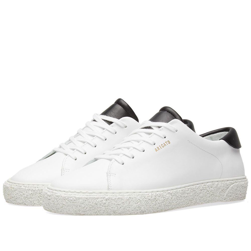 e49622086 Axel Arigato Retro Tennis Sneaker White   Black Leather