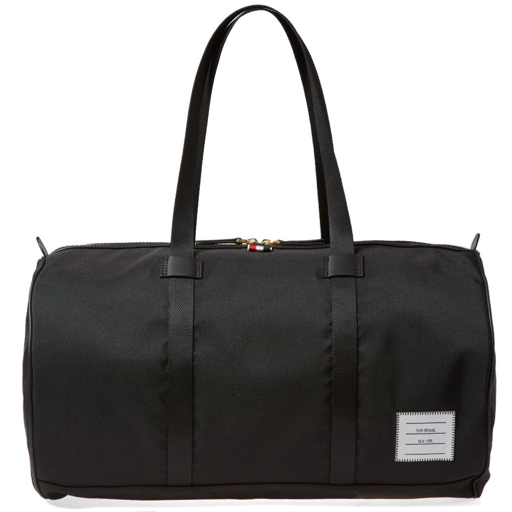 120d6458e80 Thom Browne Nylon Unconstructed Gym Bag Black