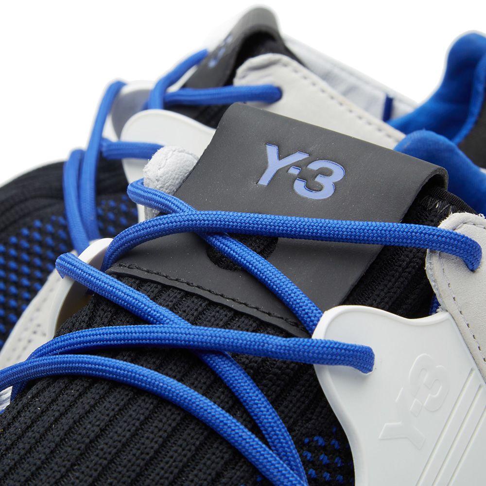 51d13b28854fe Y-3 Qasa Racer Knit Run Electric Blue