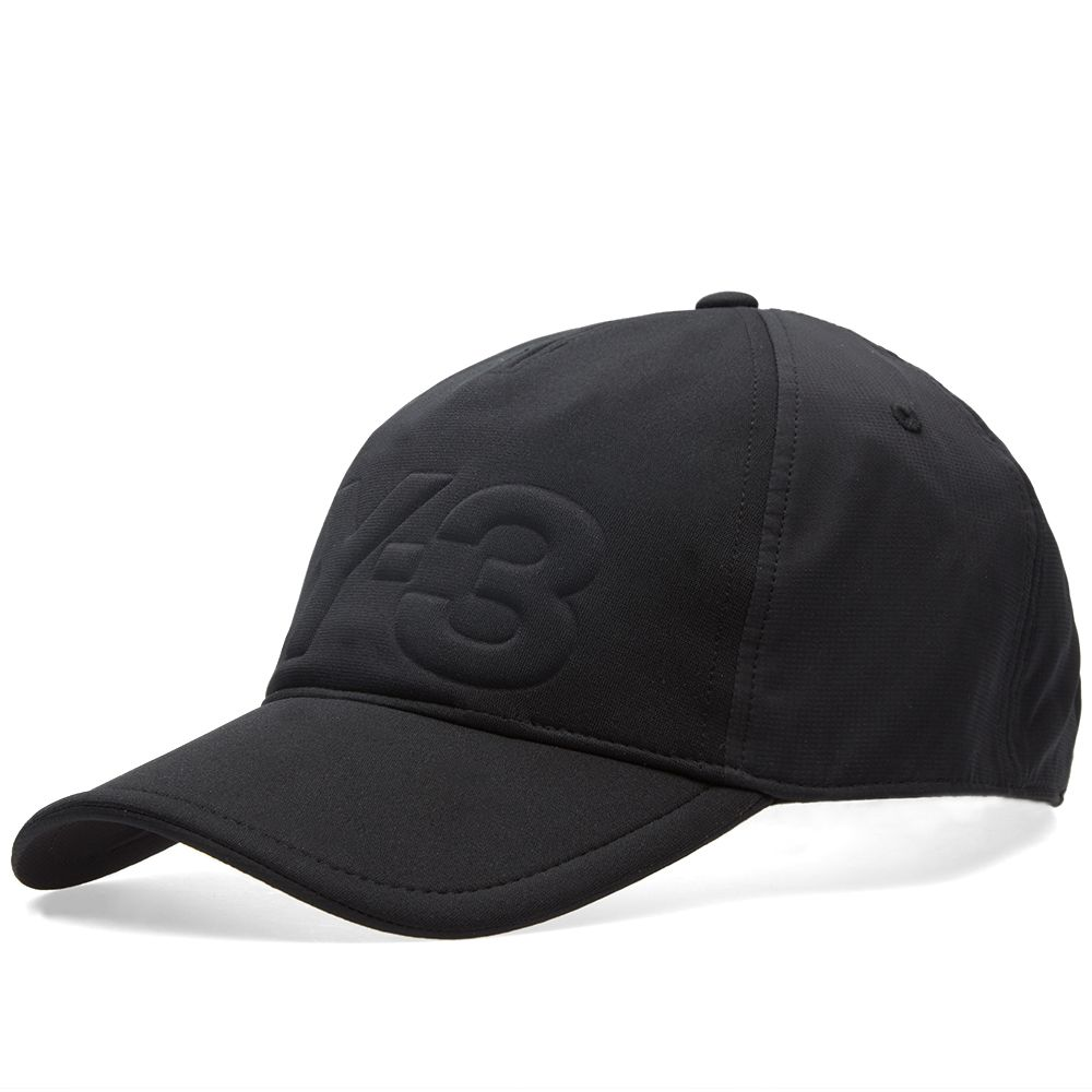 Y-3 Debossed Neoprene Cap. Black. £65. image. image 1a15e80c4461