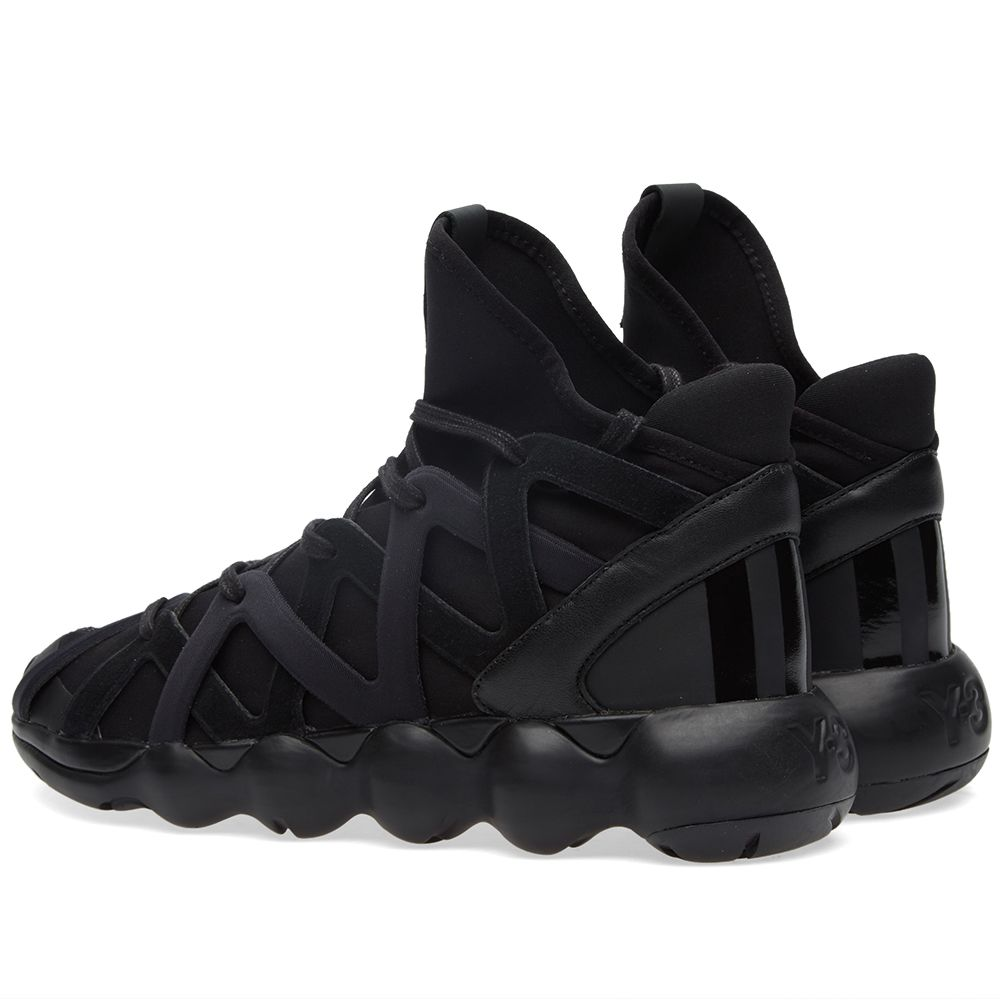 sports shoes 9be66 d24ef Y-3 Kyujo High Black  END.