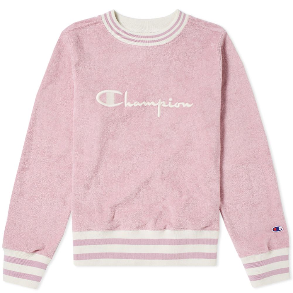 740e58e15e Champion Reverse Weave Women s Vintage Terry Sweat Mauve
