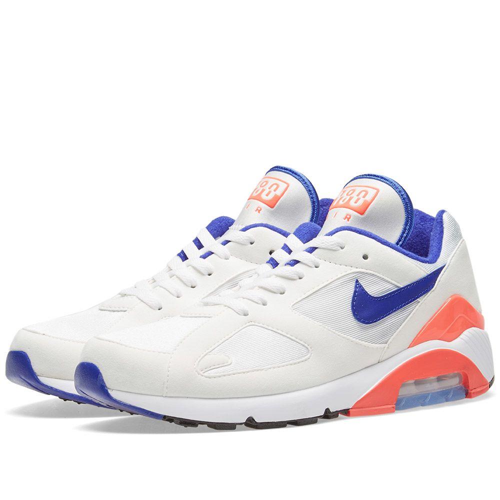 purchase cheap 05ca7 60528 Nike Air Max 180 W White, Ultramarine,  Red  END.
