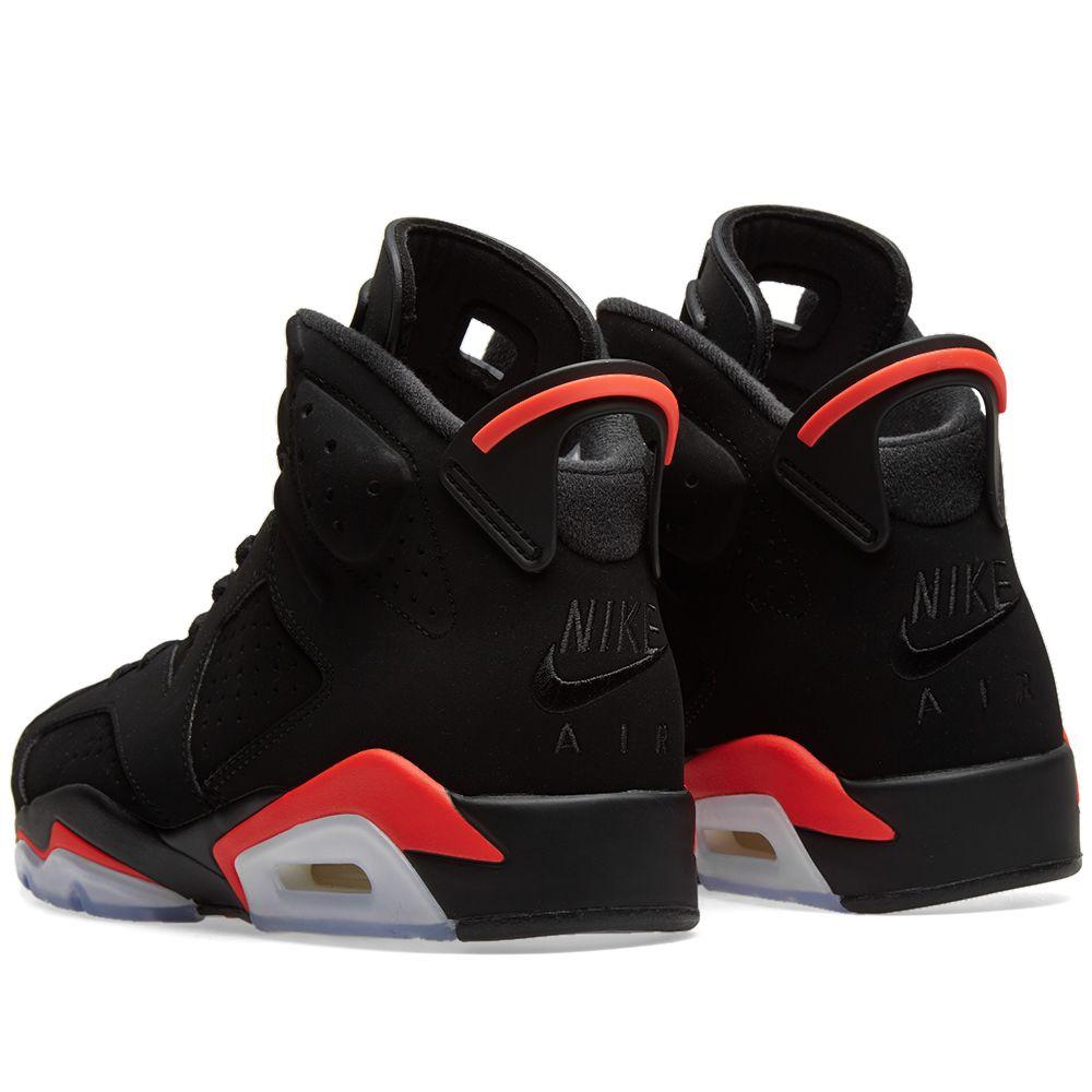982a95d3845 Air Jordan 6 Retro Black   Infrared