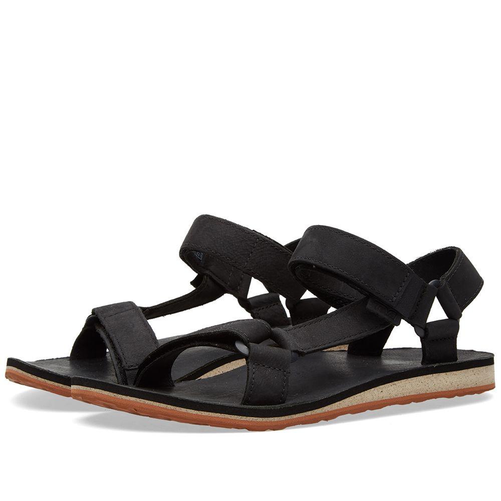 c0493fe4494 Teva Original Universal Premium Leather Sandal Black