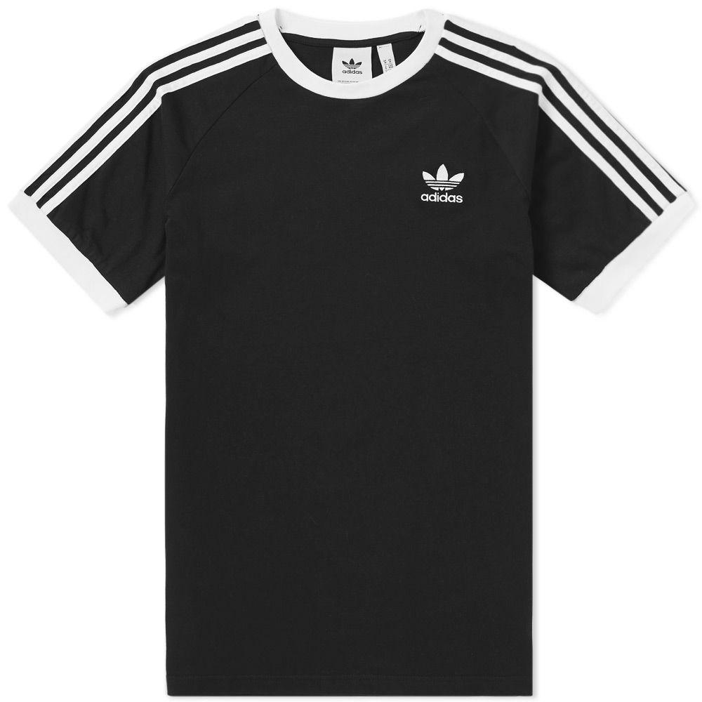 120ac37bdf Adidas 3 Stripe Tee. Black.  35. image