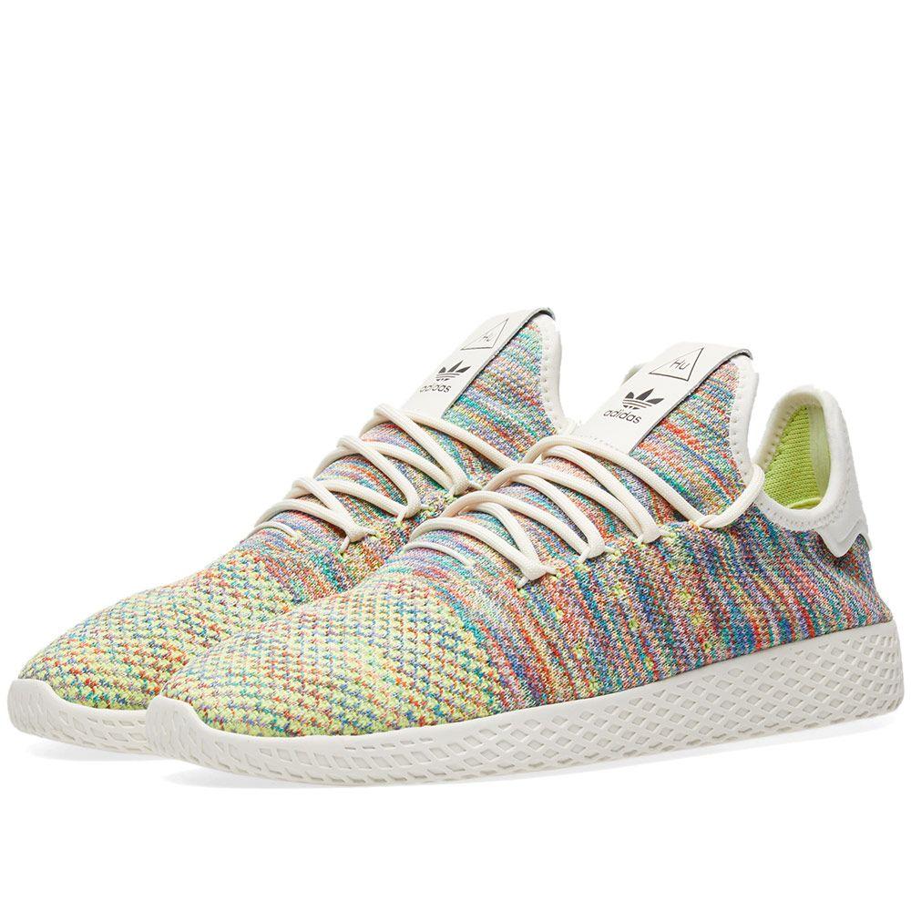 fd7888f9b09e Adidas x Pharrell Williams Tennis Hu PK Green