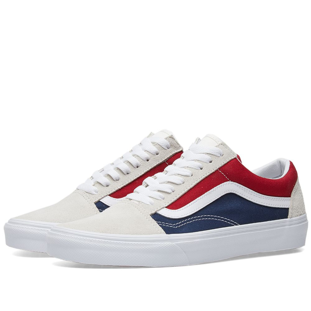 4841dccfa4d2 ... Soleheaven Curated Collections. vans white red. Vans Old Skool White