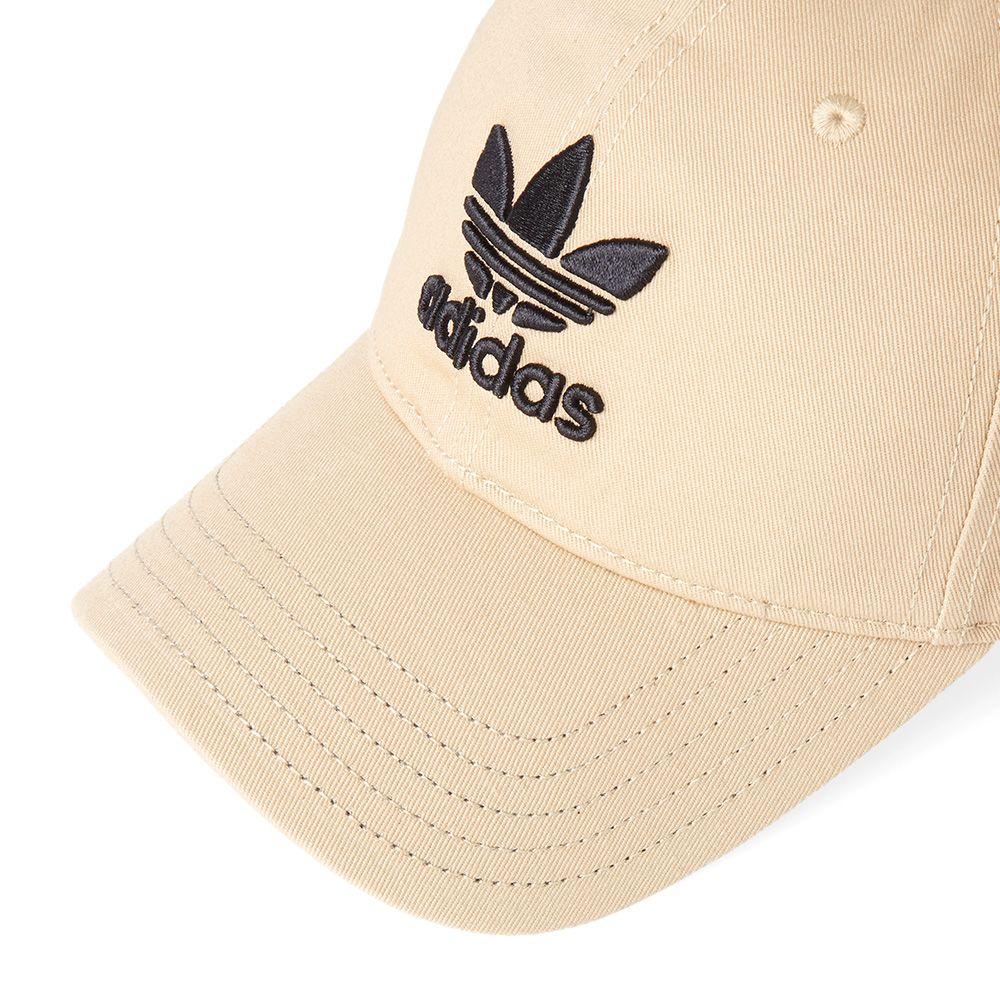 5b66c080be2 Adidas Trefoil Cap Linen Khaki