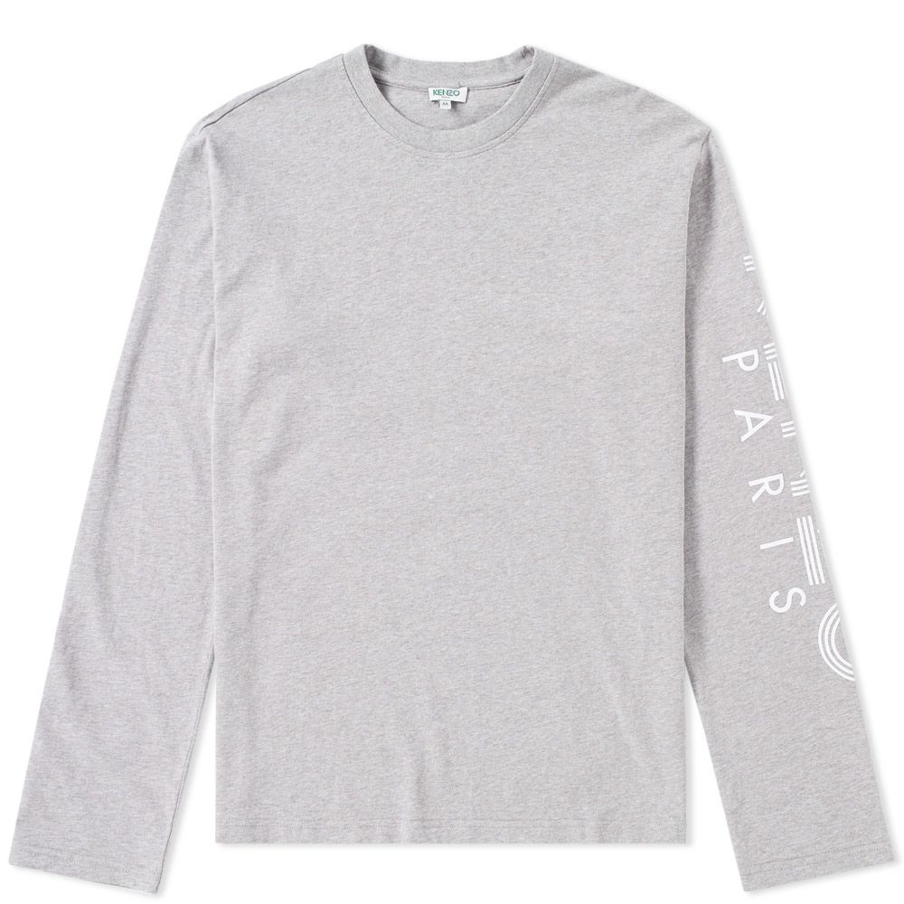 ebe8c8e3 Kenzo Long Sleeve Arm Logo Tee. Dove Grey. CA$165 CA$105. image