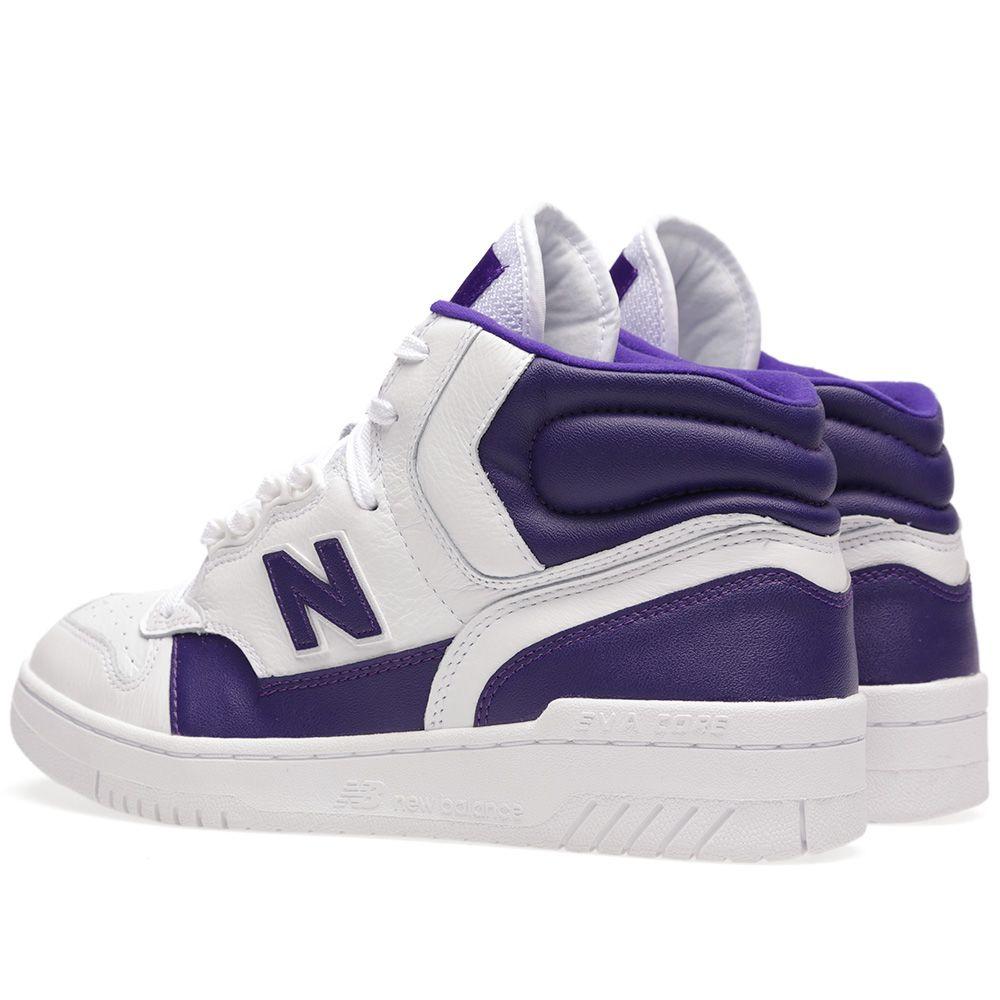 60079dae20ff New Balance x James Worthy P740LA  LA  White   Purple