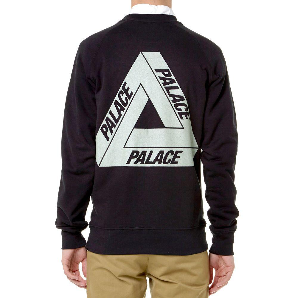 2966d892 Palace 3M Crew Black | END.