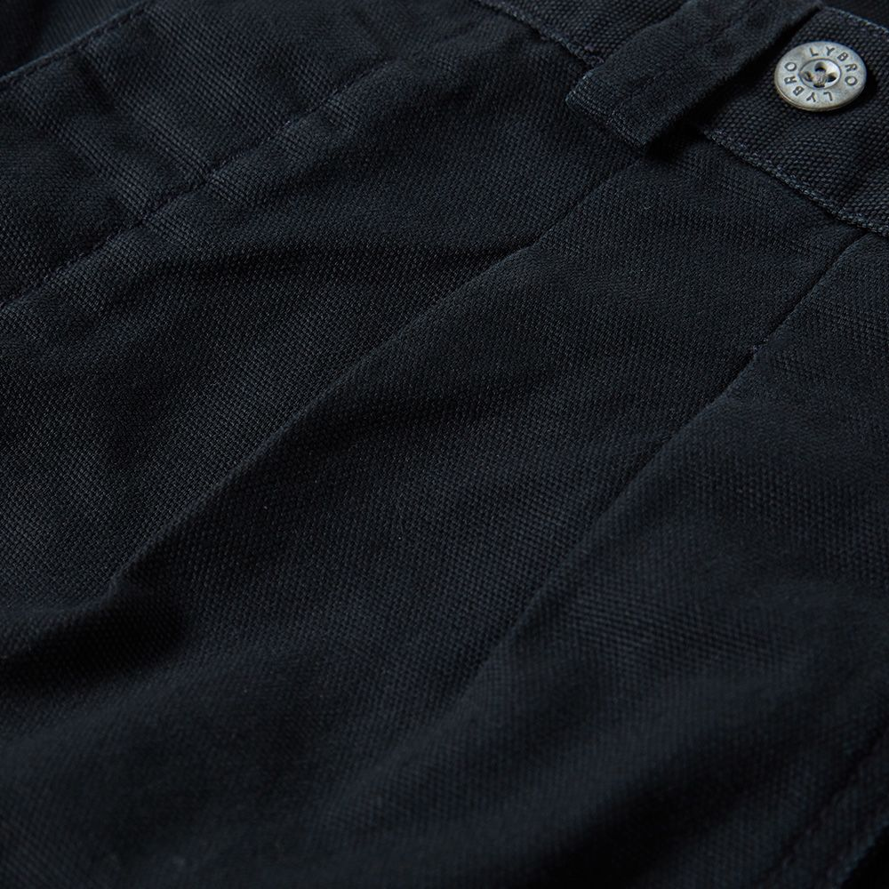 100f25d1e80b Nigel Cabourn x Lybro Pleated Chino Black Navy