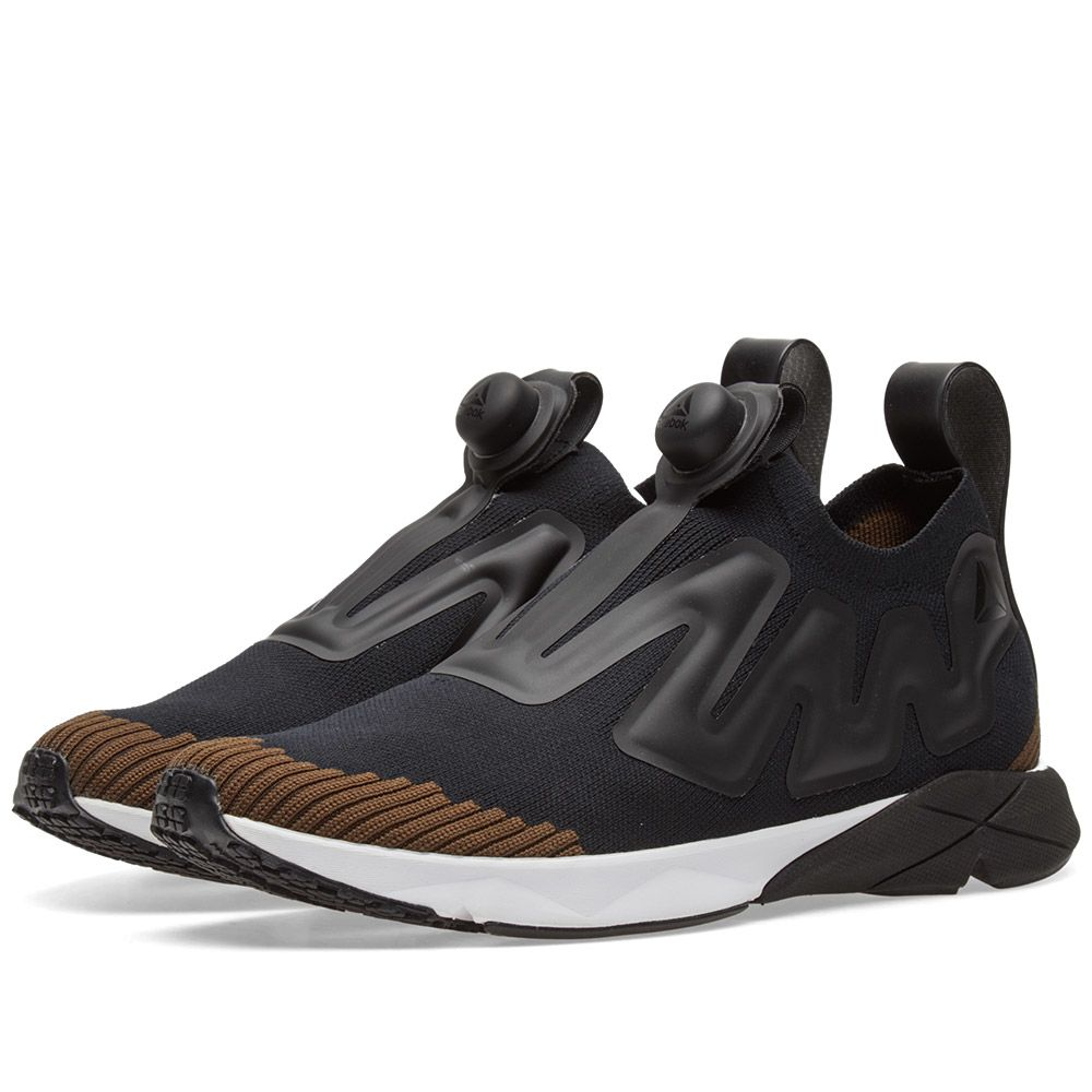 b363e5dade4 Reebok Pump Plus Supreme Ultraknit Black