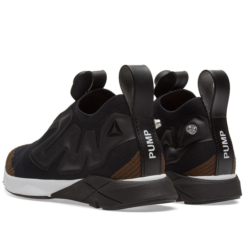 94291819c53a15 Reebok Pump Plus Supreme Ultraknit Black