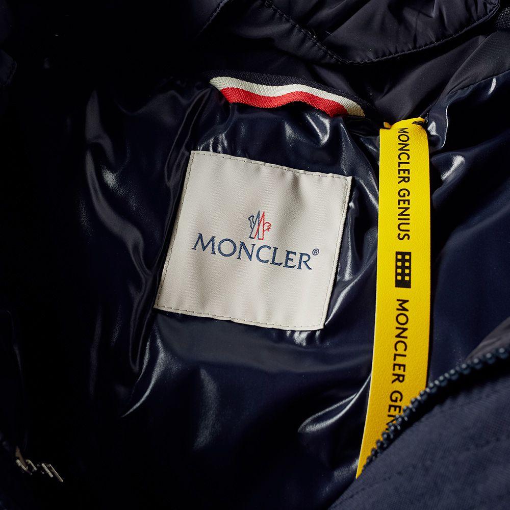 c8dcc3de0c Moncler Genius 2 Moncler 1952 Cuzc Oversized Logo Down Jacket Navy ...