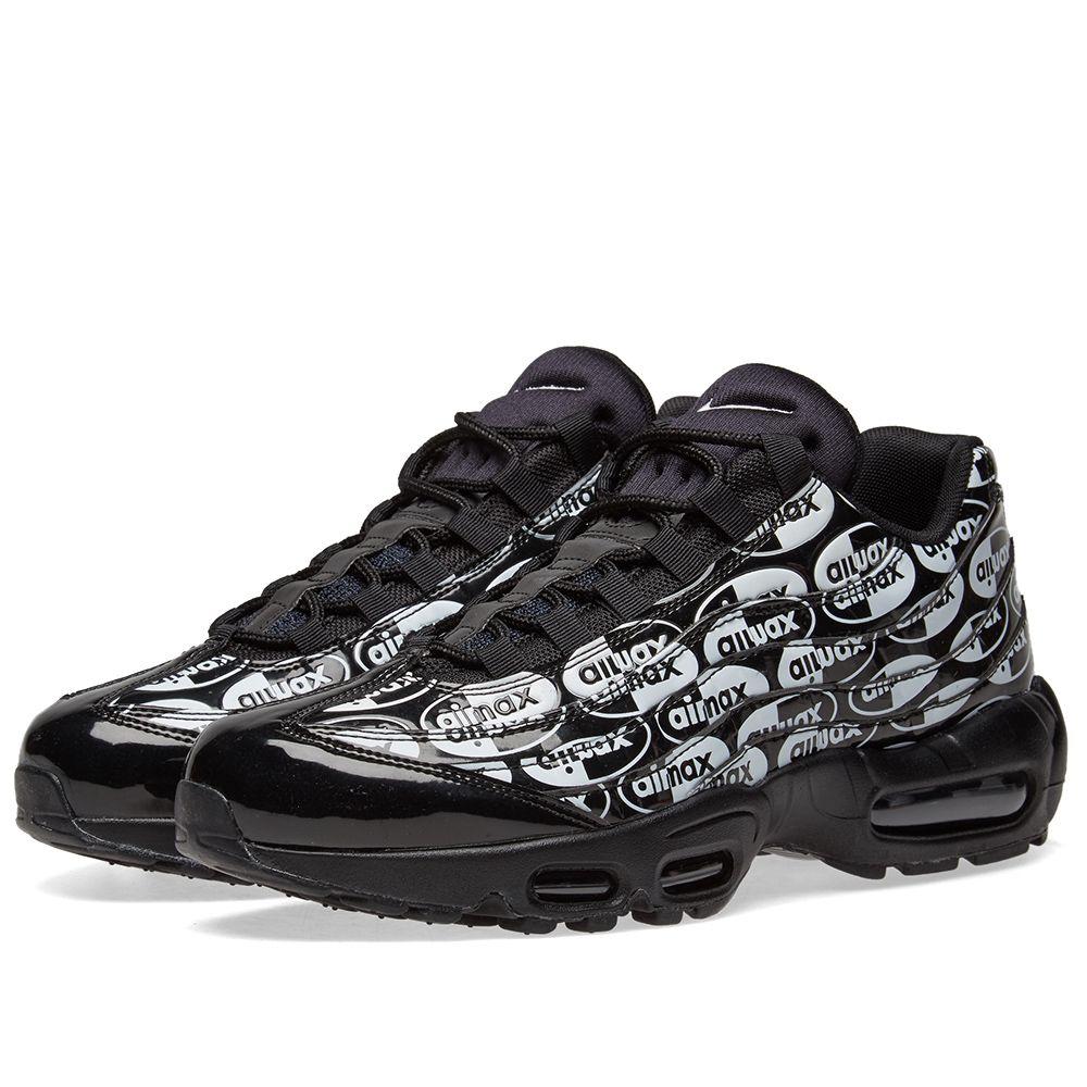 Nike Air Max 95 Premium. Black   White. DKK1 99d7b686ea1