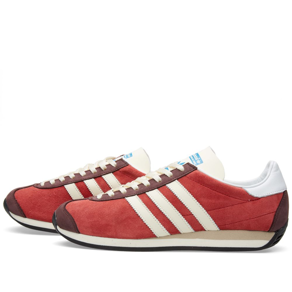 wholesale dealer f2149 70722 Adidas Country OG Rust Red  Off White  END.