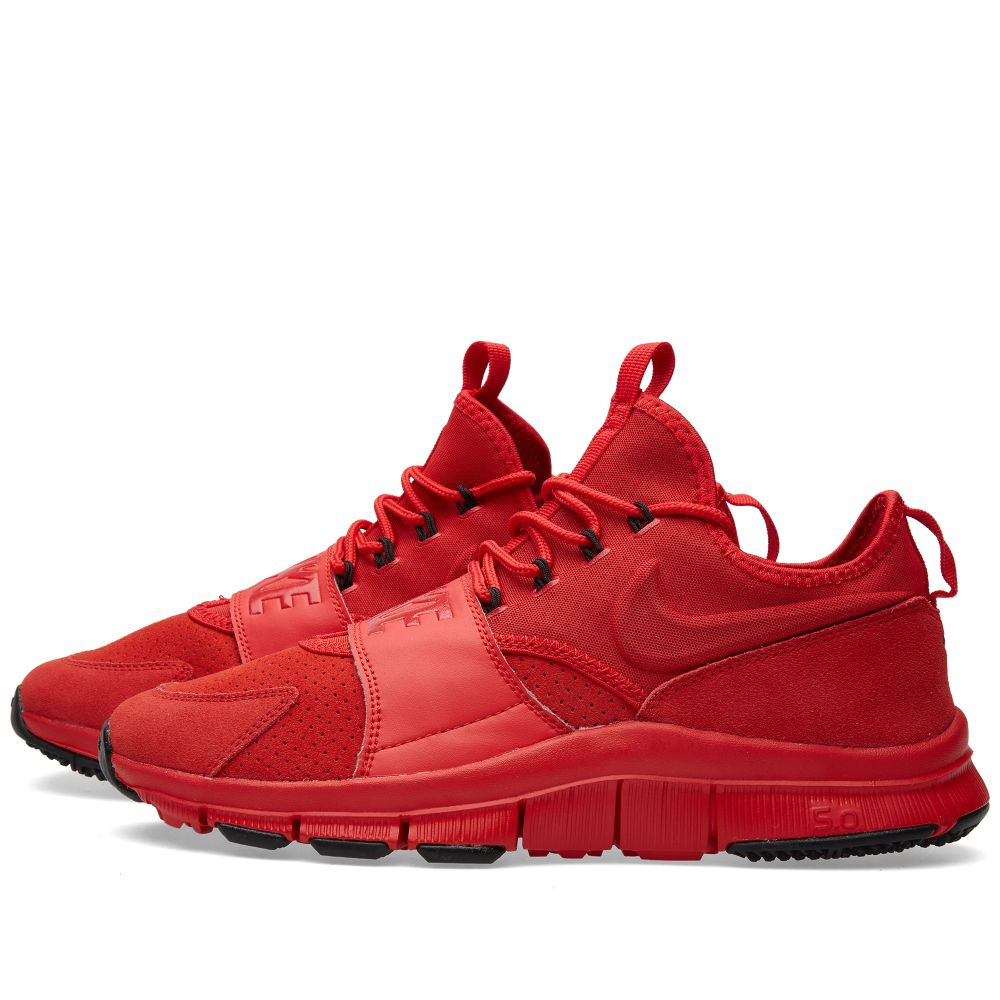 hot sales b33a4 0e6b1 Nike Free Ace Leather University Red   Black   END.