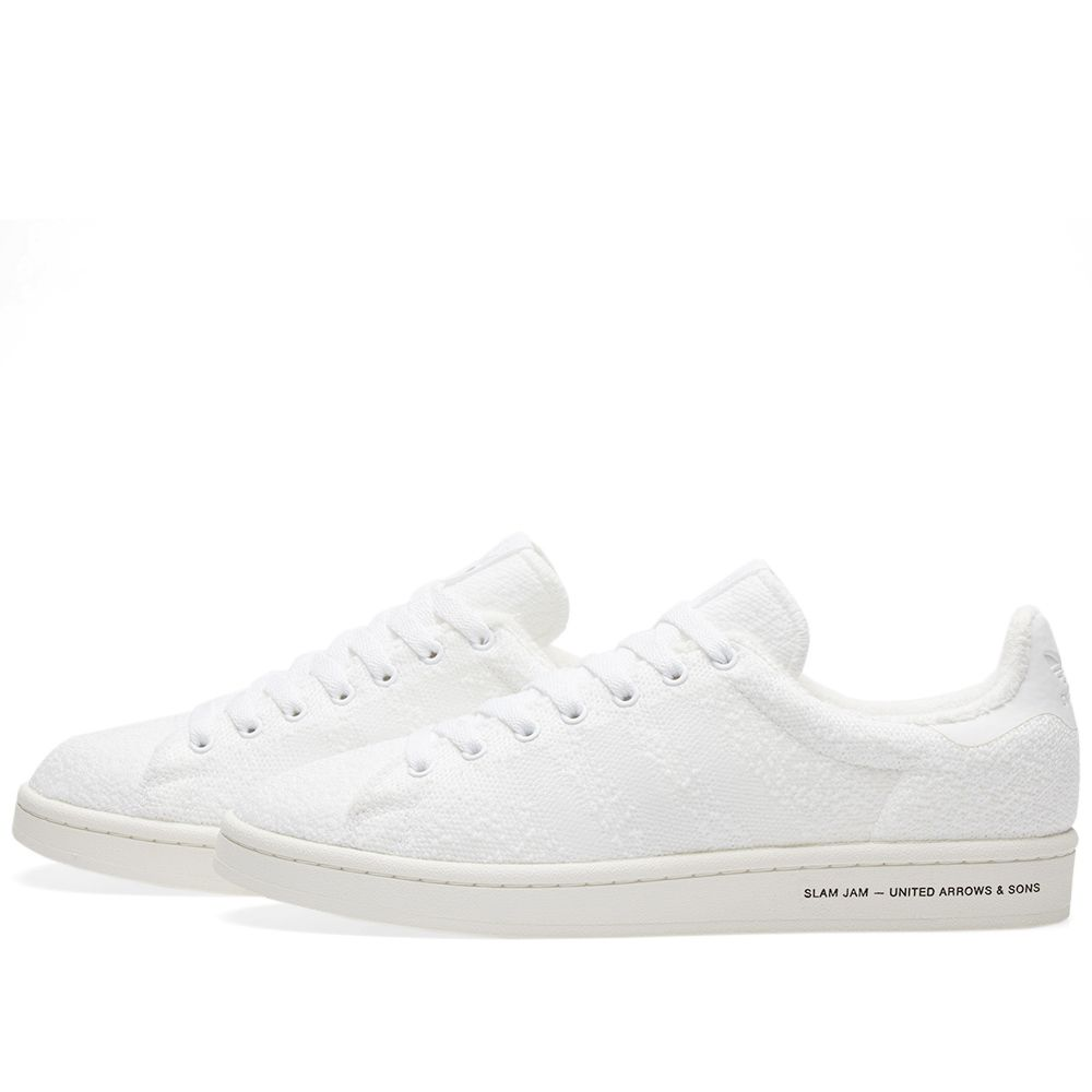 best service d8edd ff85c Adidas Consortium x United Arrows  Sons x Slam Jam Campus. White  Chalk