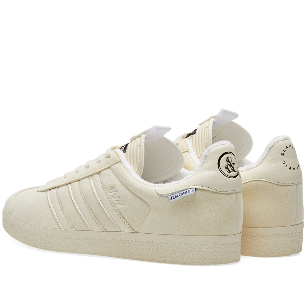 low priced 5ad14 b4e04 Adidas Consortium x United Arrows  Sons x Slam Jam Gazelle. Beige