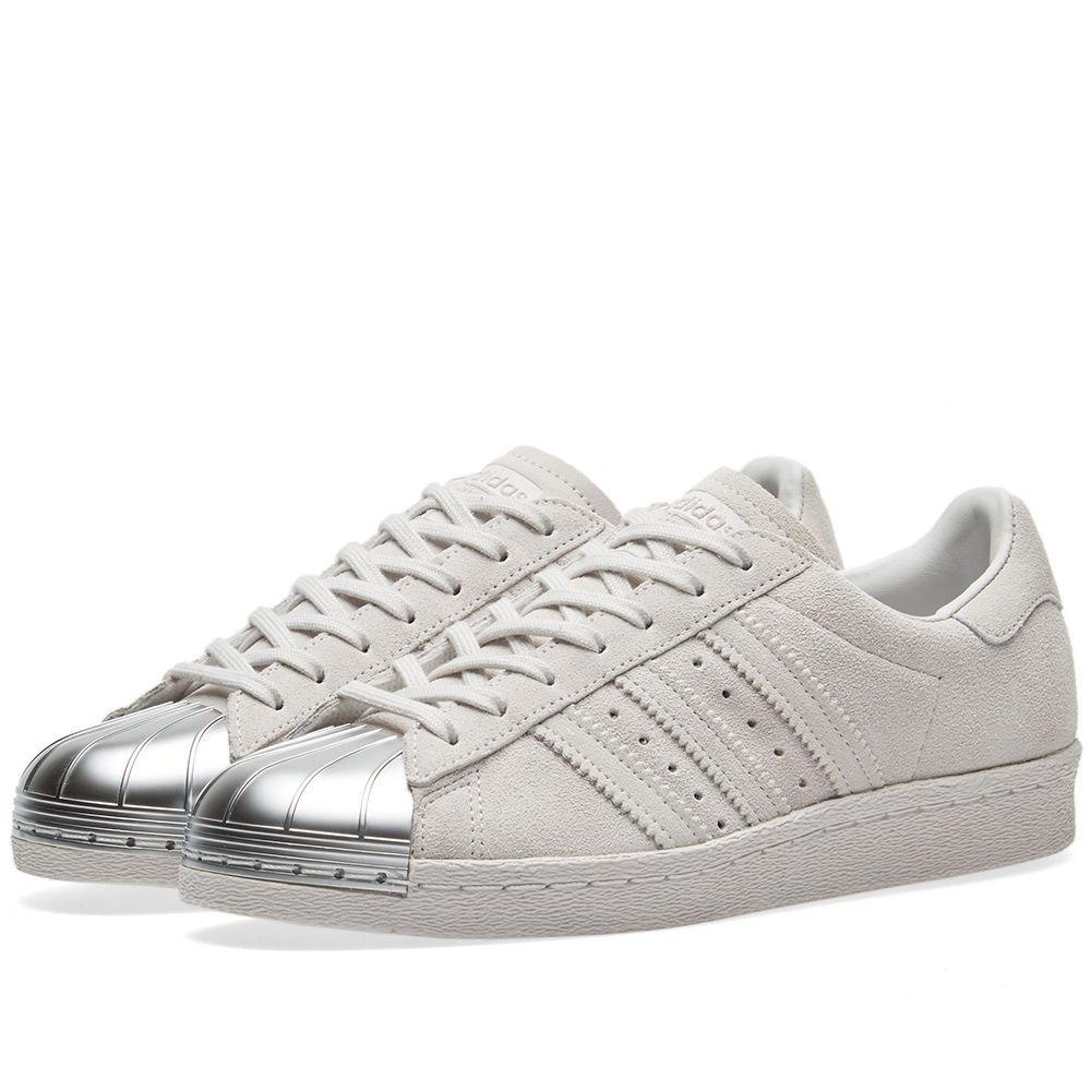 6514c7490c16 Adidas Superstar 80s Metal Toe W Grey One