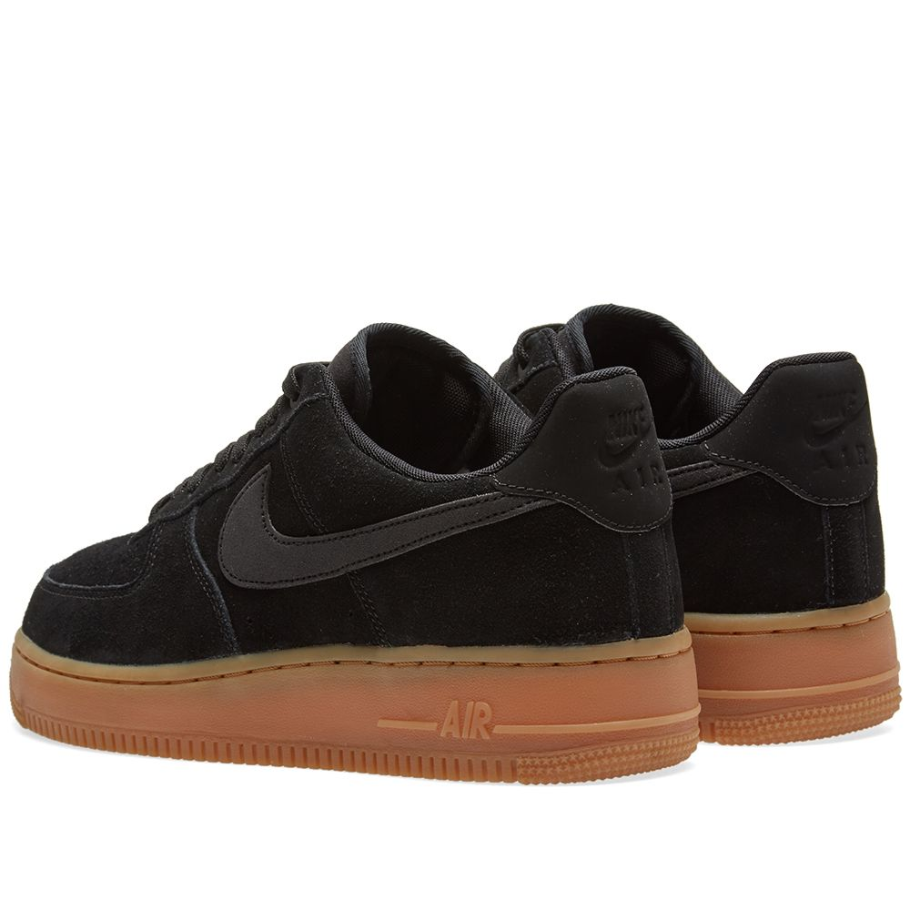 edd14399bec1 Nike Air Force 1  07 LV8 Suede Black