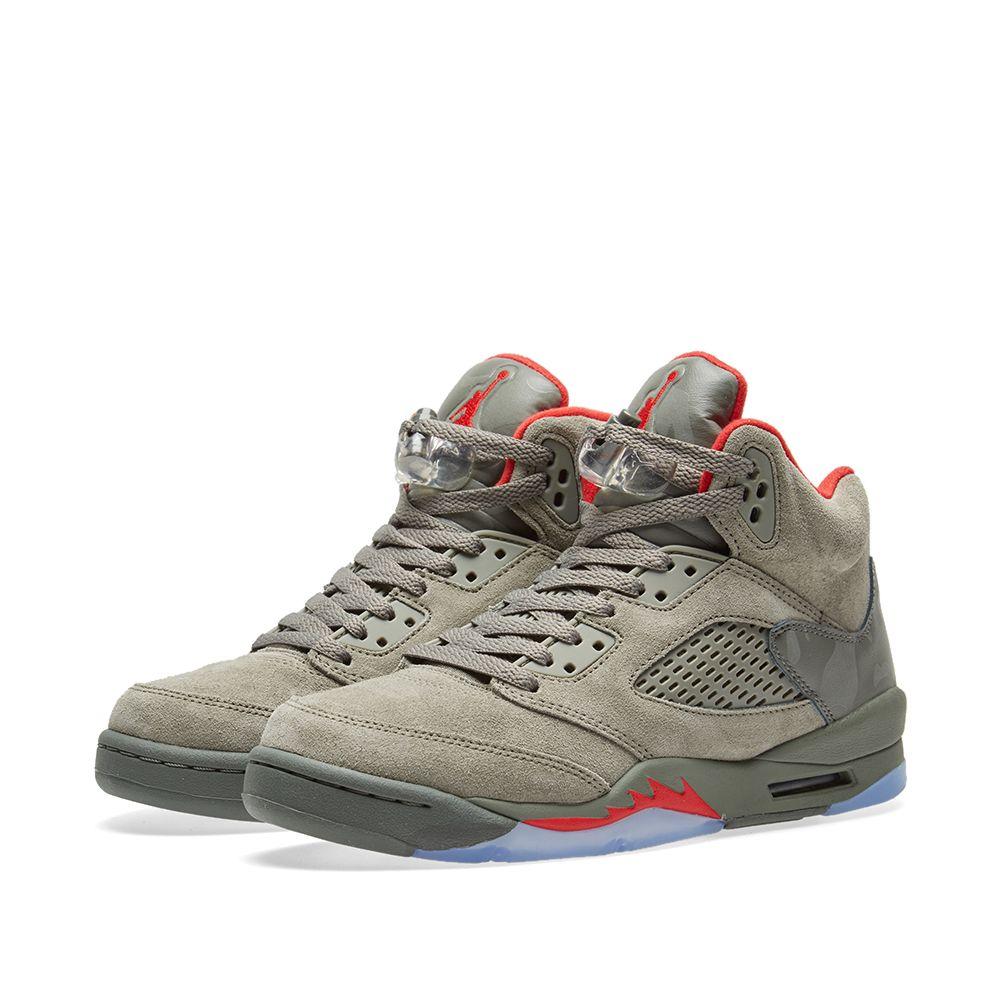 fe289e978a02 Nike Air Jordan 5 Retro GS Dark Stucco
