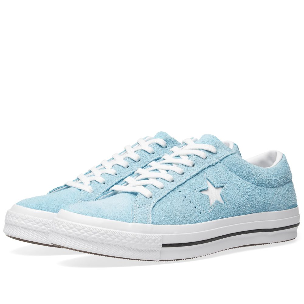78463ac6aa10 Converse One Star Ox Shoreline Blue   White