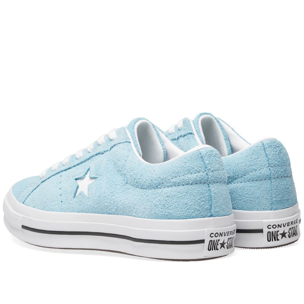ebb7be90468980 Converse One Star Ox Shoreline Blue   White