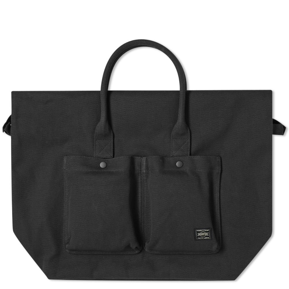 Head Porter Banff Large Tote Bag. Black. HK 2 a28e863d6d08b