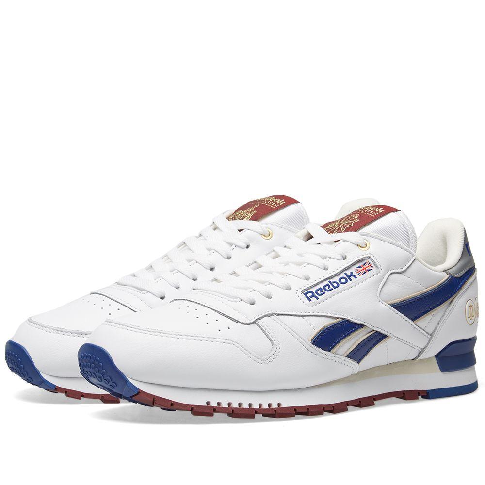351b83d3984a Reebok x Footpatrol x Hal Classic Leather MU White