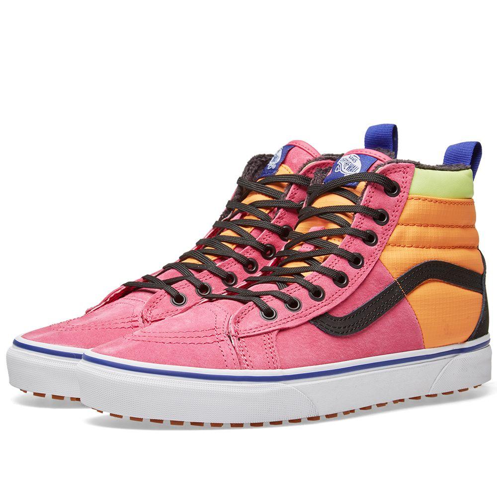 975945dff54 Vans Sk8-Hi MTE DX Pink Yarrow