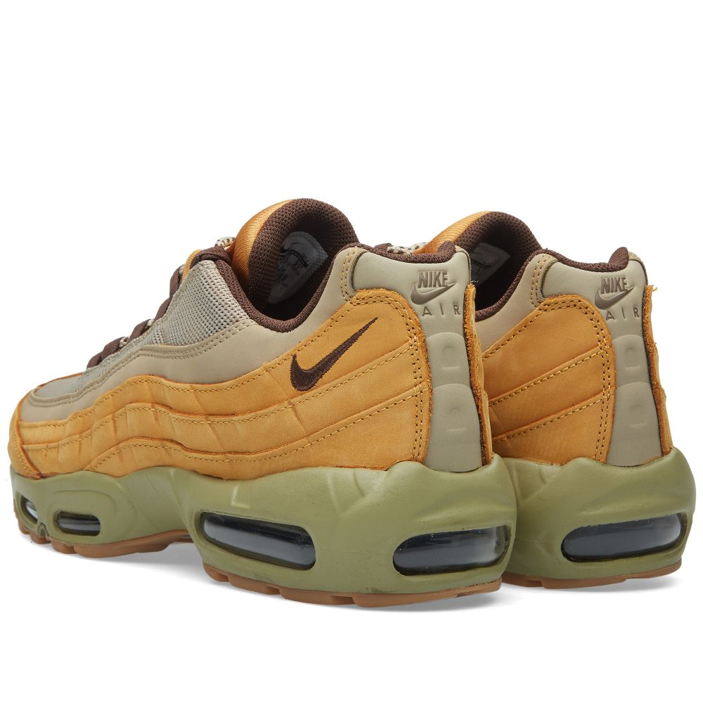 half off 3a1f6 d9163 Nike Air Max 95 Premium  Wheat  Bronze, Baroque Brown   Bamboo   END.