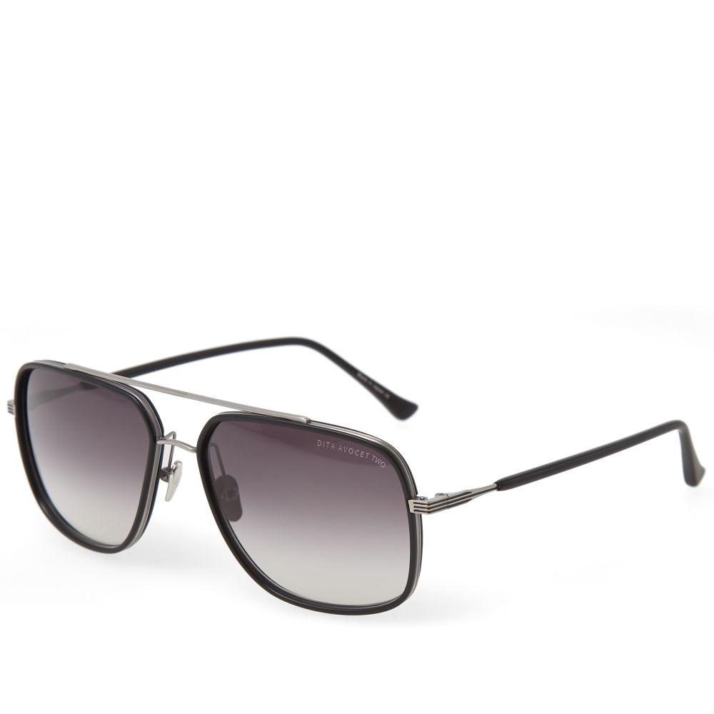 6cd23a3df3aa Dita Avocet-Two Sunglasses Matte Black   Grey