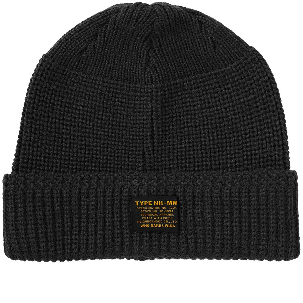Neighborhood Jeep Beanie Black  3fbd392688