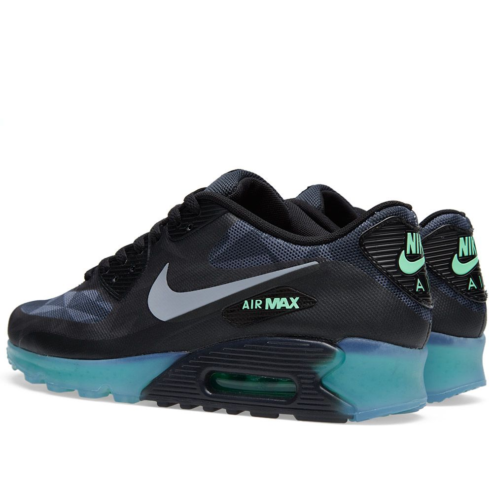 reputable site 78324 d39dd Nike Air Max 90 Ice QS Black, Cool Grey   Anthracite   END.
