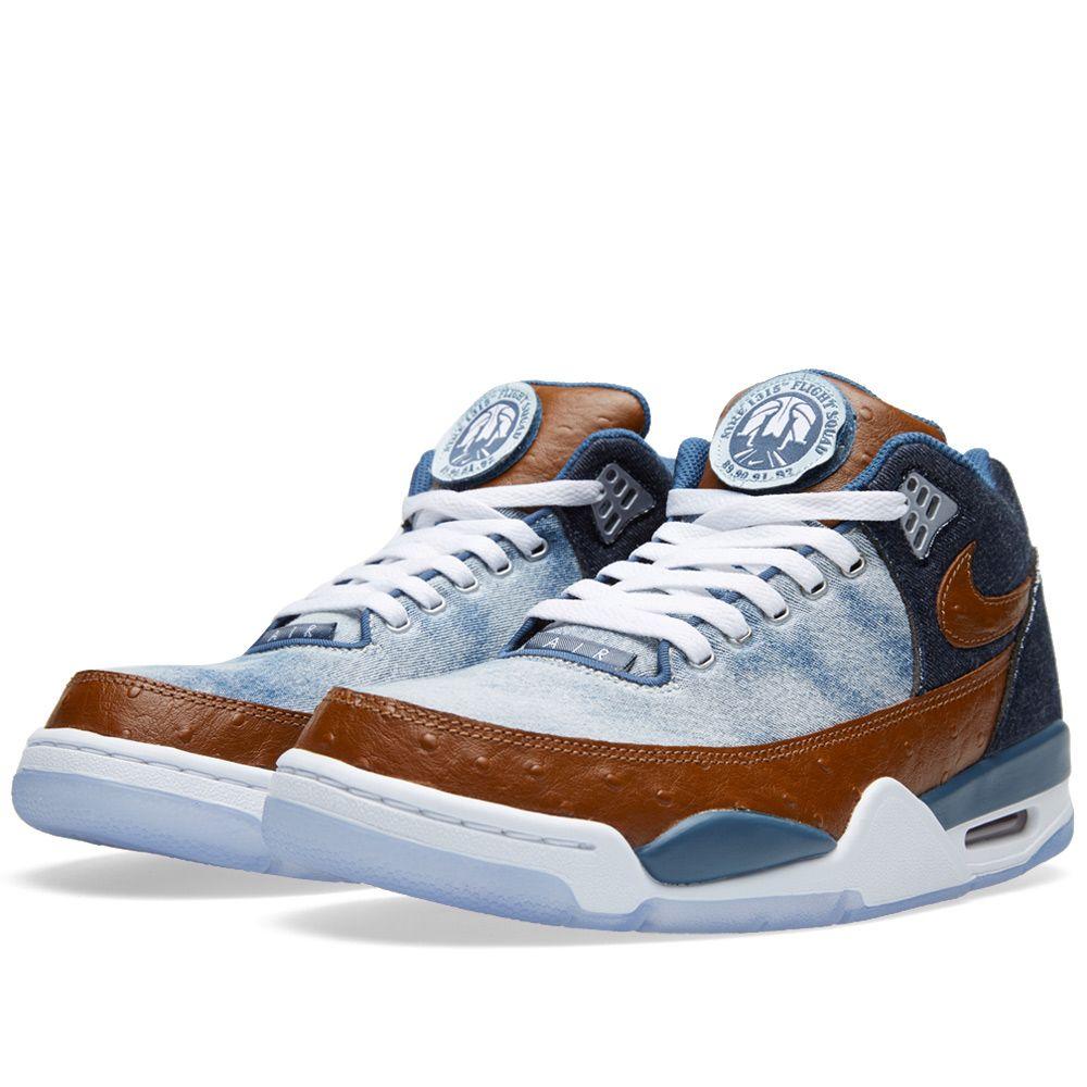 best website 83091 871f6 Nike Flight Squad Premium QS Denim  Hazelnut  END.