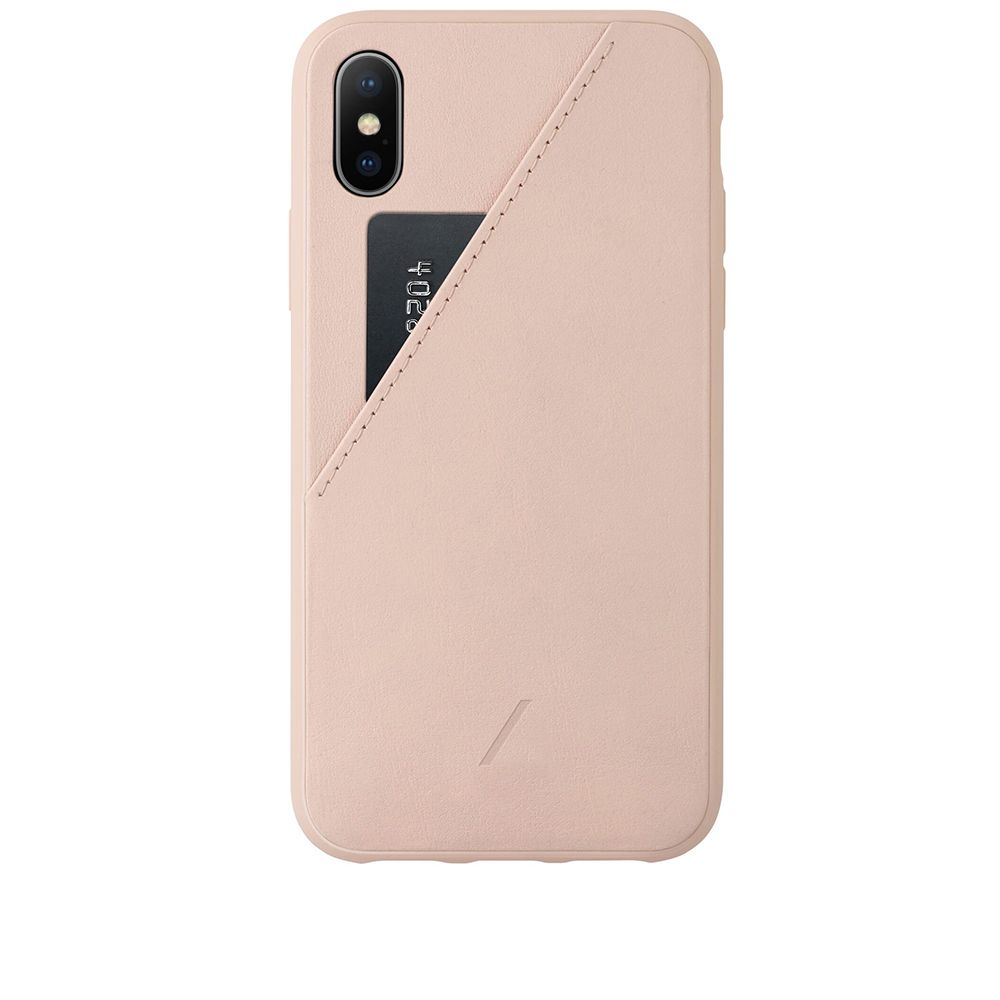 Native Union Clic Card Iphone Xs Max Case Rose End