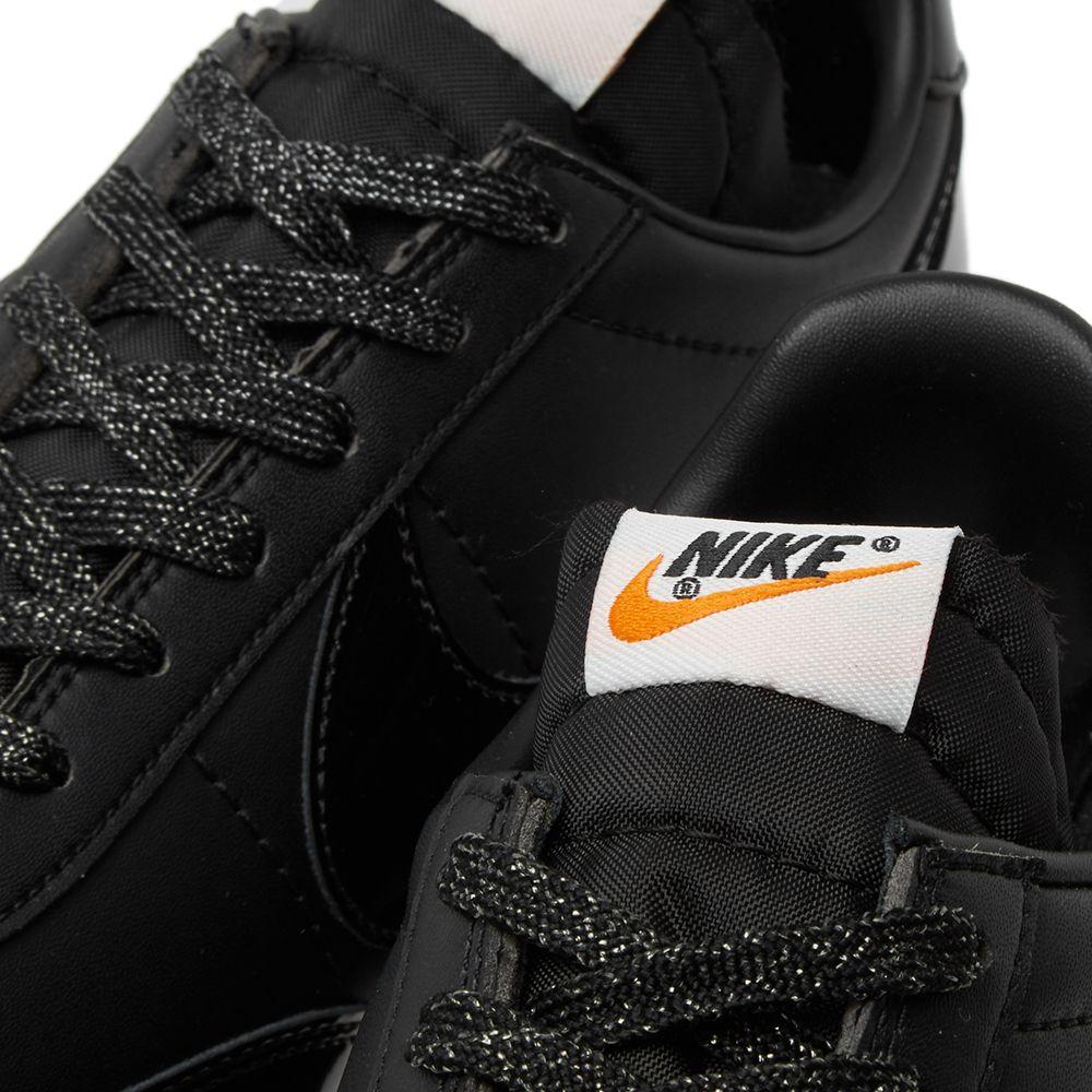 1996cb56d16e Nike x Comme des Garcons Night Track Black   White