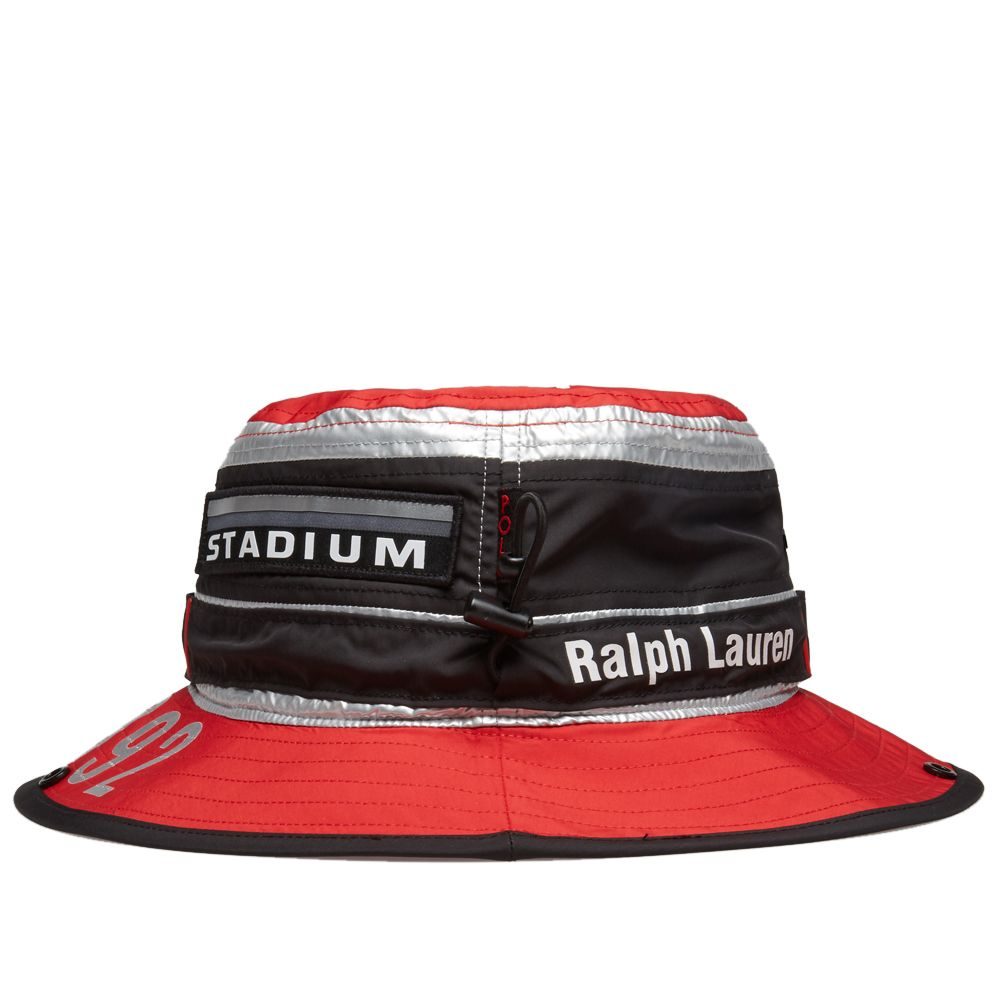 Polo Ralph Lauren Boonie Hat Injection Red   Silver  0282b903b76