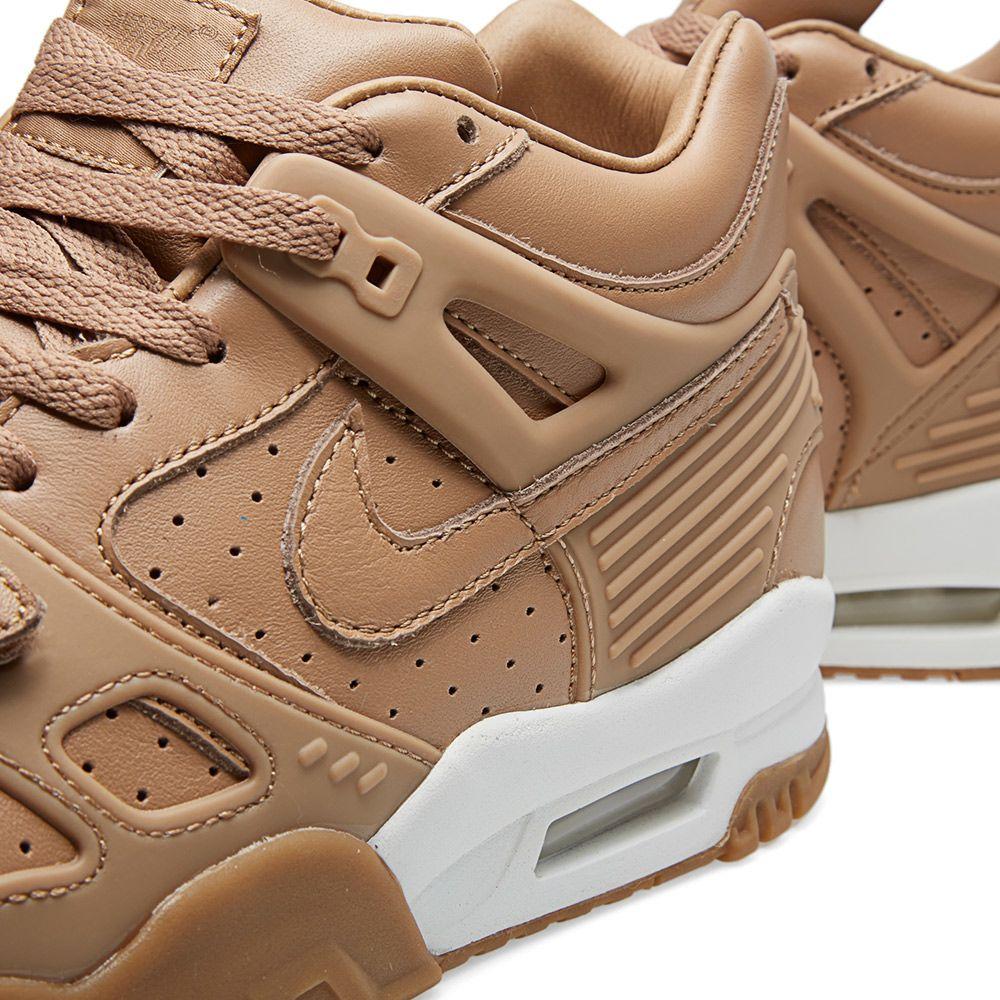 hot sale 0f827 c3bf2 Nike Air Trainer 3 Premium QS Pale Shale   Gum Medium Brown   END.