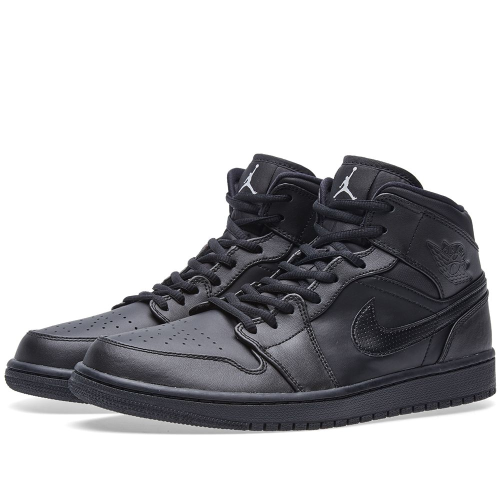 ac0be1cf53f88c Nike Air Jordan 1 Mid. Black   White. AU 139 AU 95. Plus Free Shipping.  image