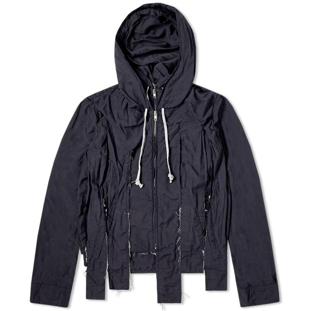 Comme Des Garcons Homme Plus Garment Treated Cut Hooded Jacket by Comme Des Garçons Homme Plus
