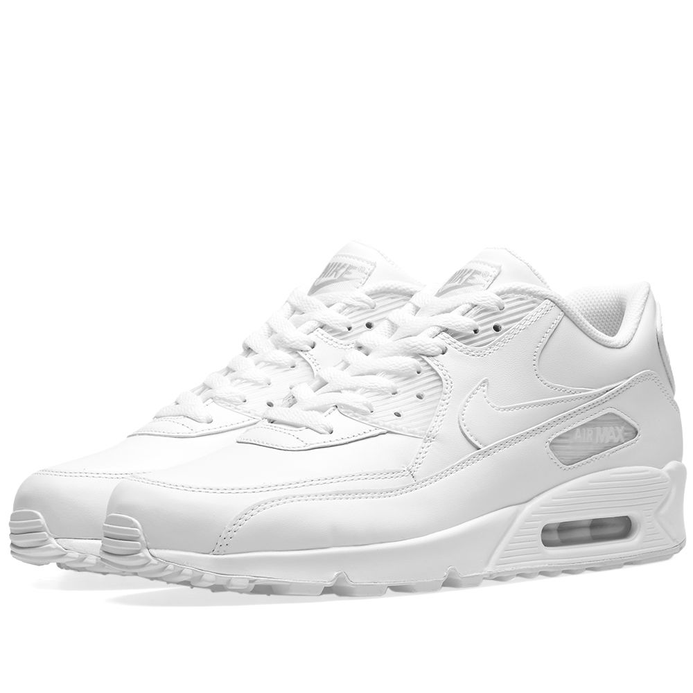 ed28bab61ba5 Nike Air Max 90 Leather White
