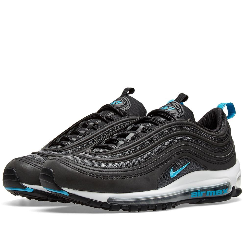 save off 6ce9b 0c425 Nike Air Max 97 Black, Blue  Dark Grey  END.