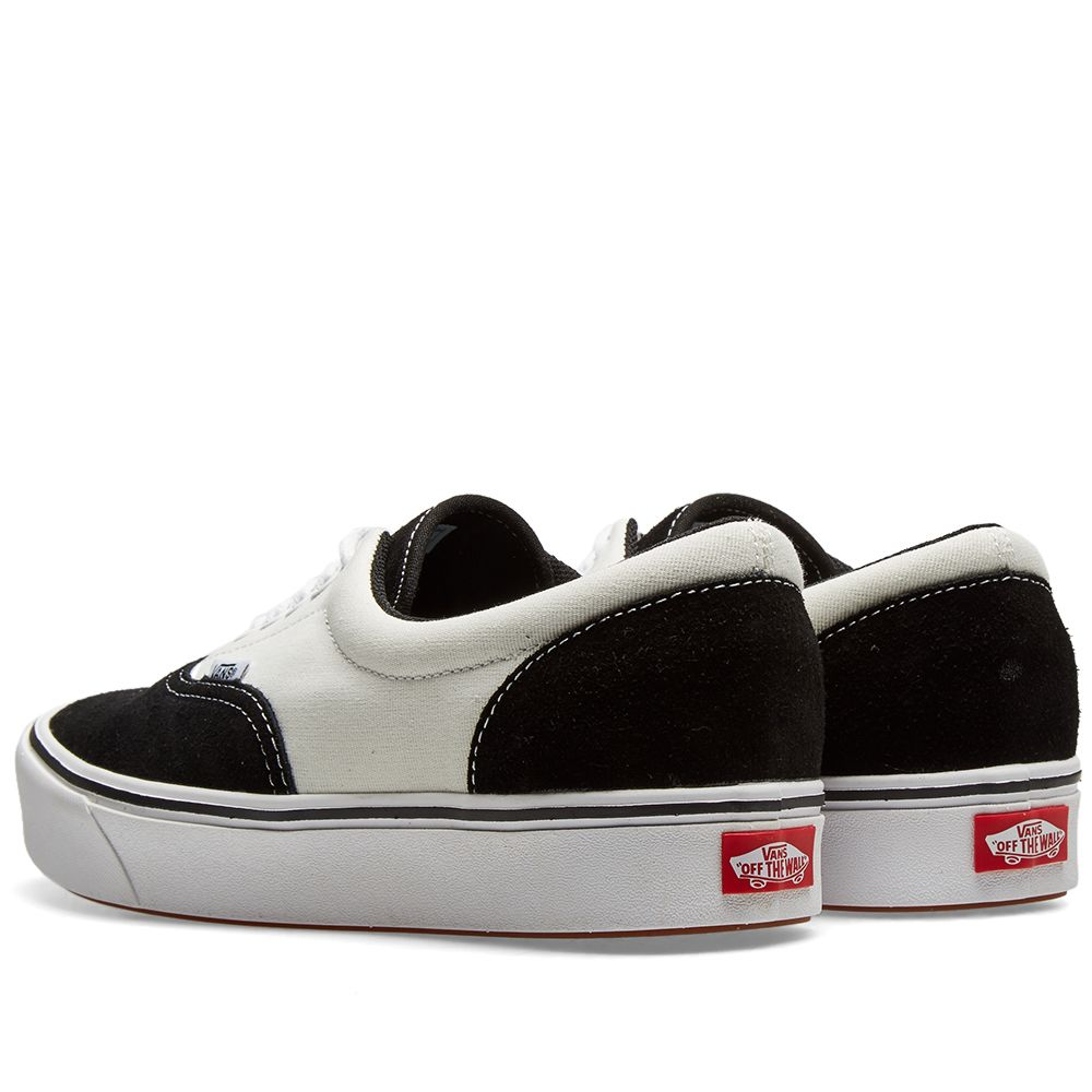 Vans UA ComfyCush Era Black   Marshmallow  54d0a6171