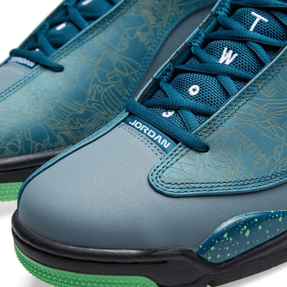 e9a5c068ed7149 Nike Air Jordan Dub Zero  Teal  Teal